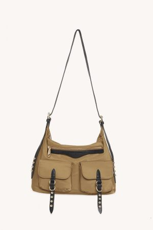 Rebecca Minkoff Bowie Nylon Messenger Military | Womens Shoulder Bags