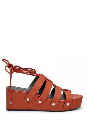 Rebecca Minkoff Iven Sandal Brown | Womens Shoes