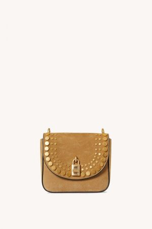 Rebecca Minkoff Love Too Small Crossbody With Studs Military | Womens Crossbody Bags